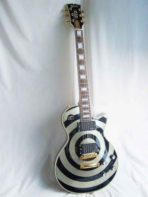 guitarra eléctrica psicodélica