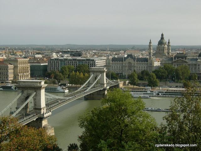 Budapeszt - Széchenyi Bridge