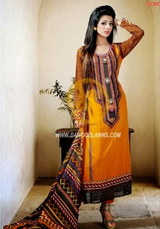 Dawood Classic Lawn Collection 2014