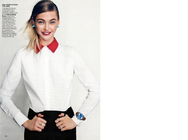 to wear - Sasha Pivovarova, Fei Fei Sun Anais Mali by Patrick Demarchelier for Vogue February 2014 video