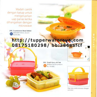 TupperwareRaya-Katalog Tupperware Reguler 2013, crystalwave bowls