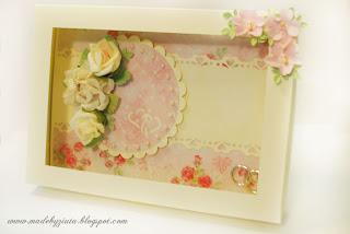 kartka ślubna sztalugowa skłądaczek wesele kartka na wesele ręcznie robiona