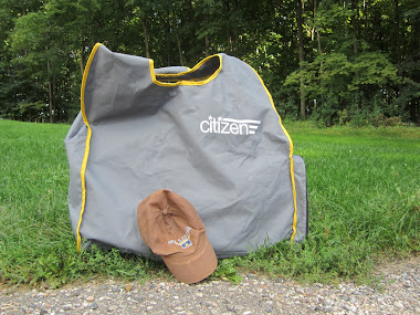 Citizen Foldy in its Bag.