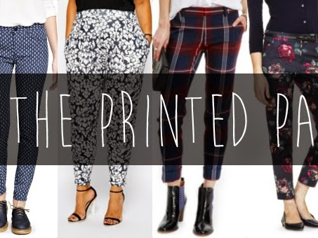 Fall Style Staples: The Printed Pants