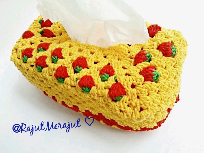 Tutup Galon Rajut, cover tissue, crochet tissue cover, Cover Tissue Rajut