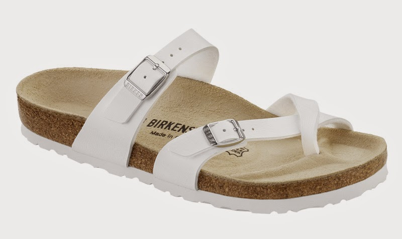 Birkenstock from Germany - Mayari Birko-Flor Sandals - stylish new sandals ! K-B