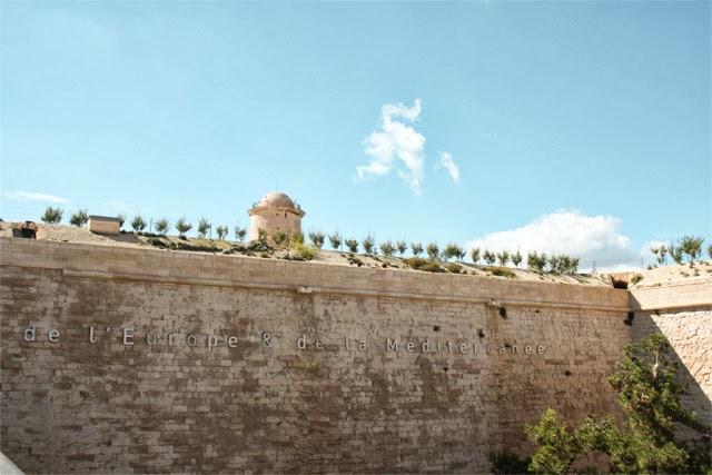 Entrée du musée du Mucem - Blog Marseille
