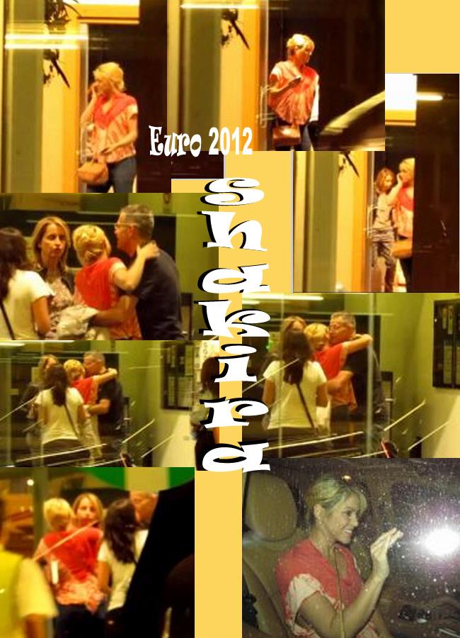 Shakira embarazaday padres Gerad Pique