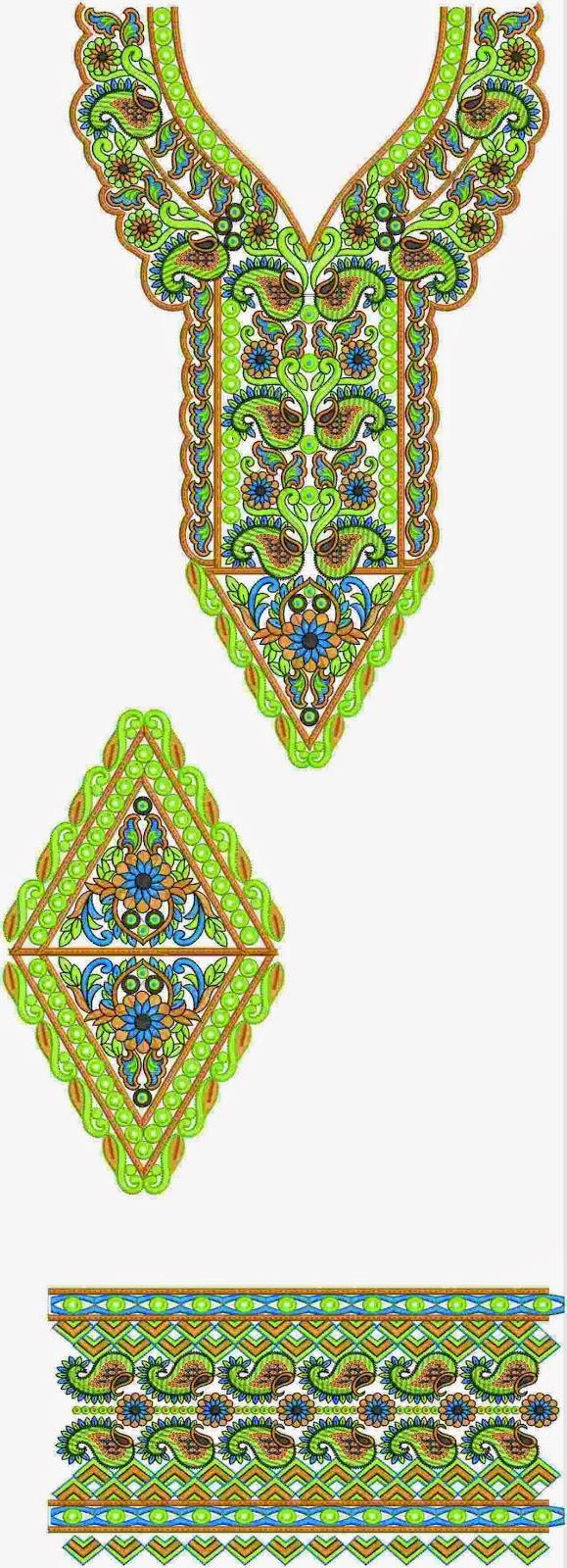 top gebrandmerk kollege borduurwerk Kurti