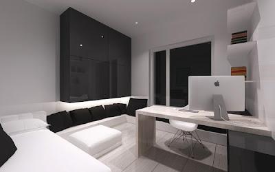 apartamento decoración minimalista