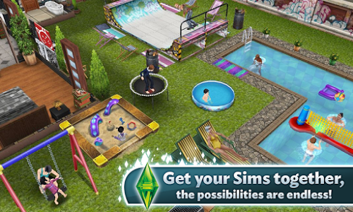 The Sims Free Play - free apk - data full - android games