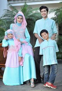 Baju Muslim Lebaran Keluarga