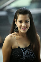 Deeksha Panth in Jeans and Tank Top at Black is Black Event Spicy Photos