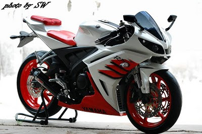 Gambar Modifikasi Motor: Yamaha Bison Putih
