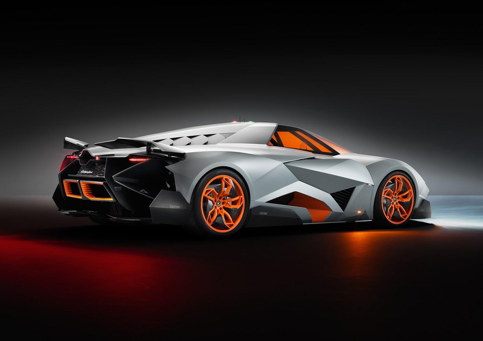 Foto Mobil Keren Lamborghini Egoista Back Side View