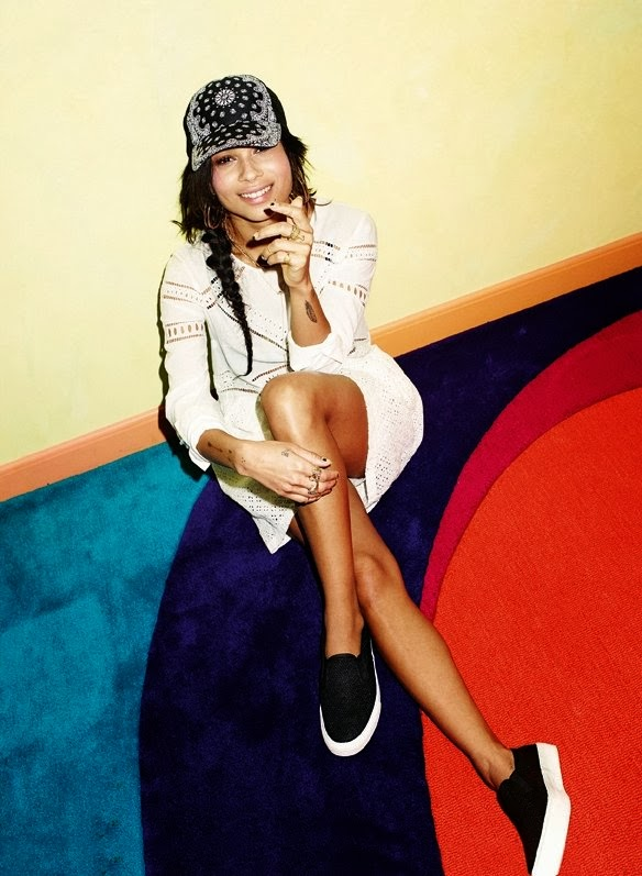 Zoe Kravitz HQ Pictures ASOS Russia Magazine Photoshoot April 2014