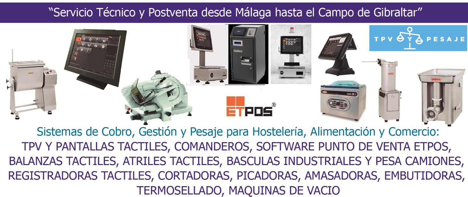 Tpv y Pesaje Málaga - Su socio tecnológico.