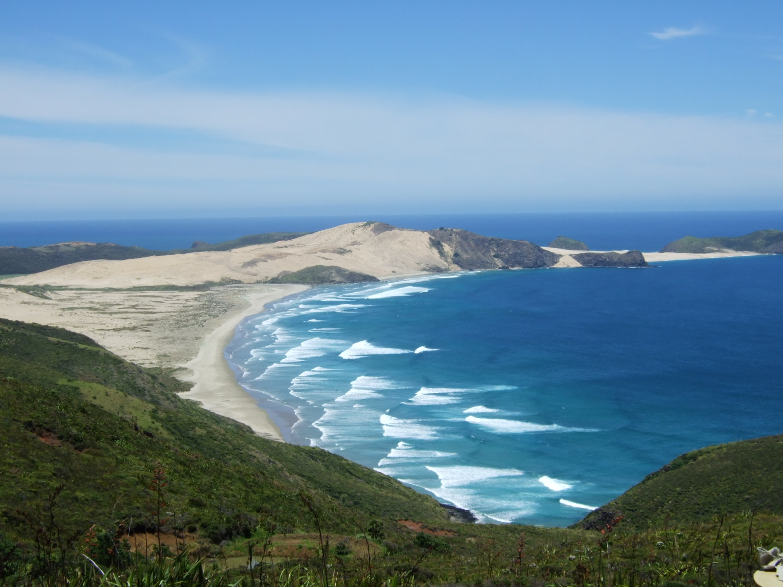波,レインガ岬,NZ〈著作権フリー無料画像〉Free Stock Photos