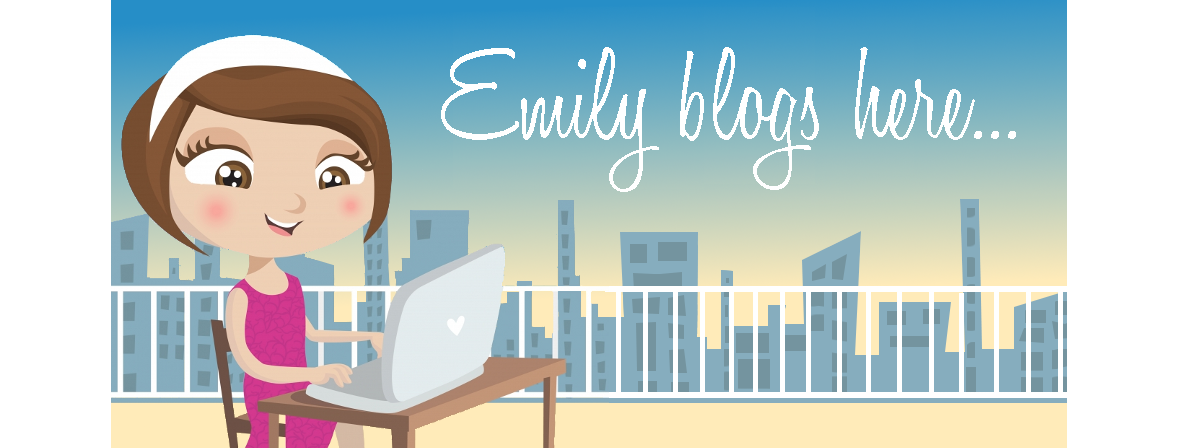 emily blogs here...