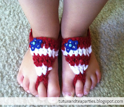 Baby Sandals from Tutus and Tea Parties