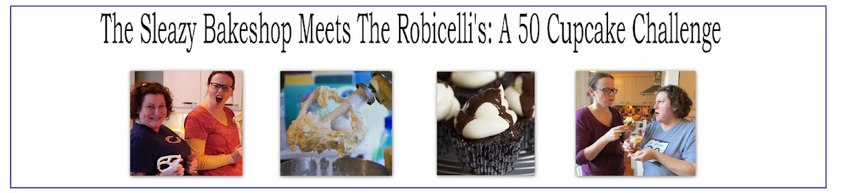 The Sleazy Bakeshop meets the Robicelli's: A 50 cupcake challenge
