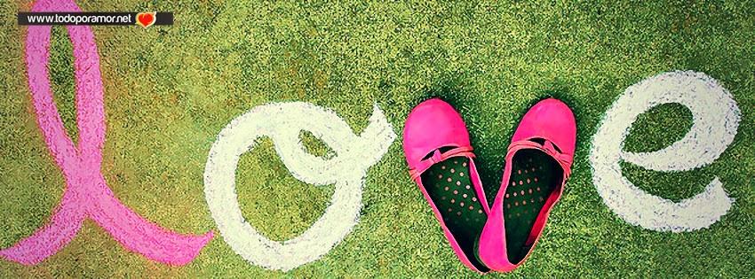 Portadas de amor expresados en zapatillas