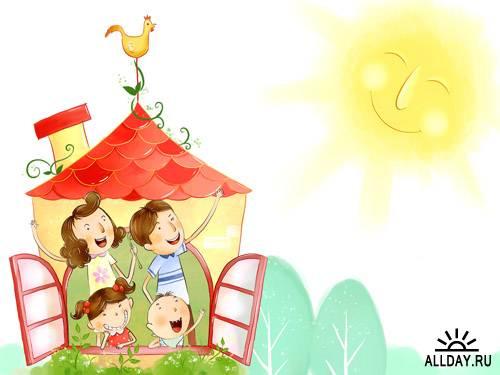 Семья это счастье любовь и удача семья