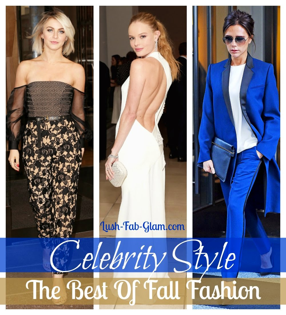 We can't get enough of these fabulous fall styles!