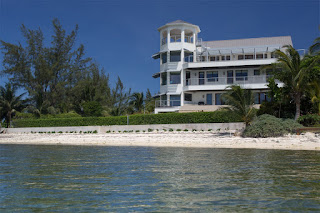Beach front Caribbean villa for sale