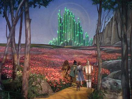 Magician Of Oz Evolution The Emerald City Throughout Ages