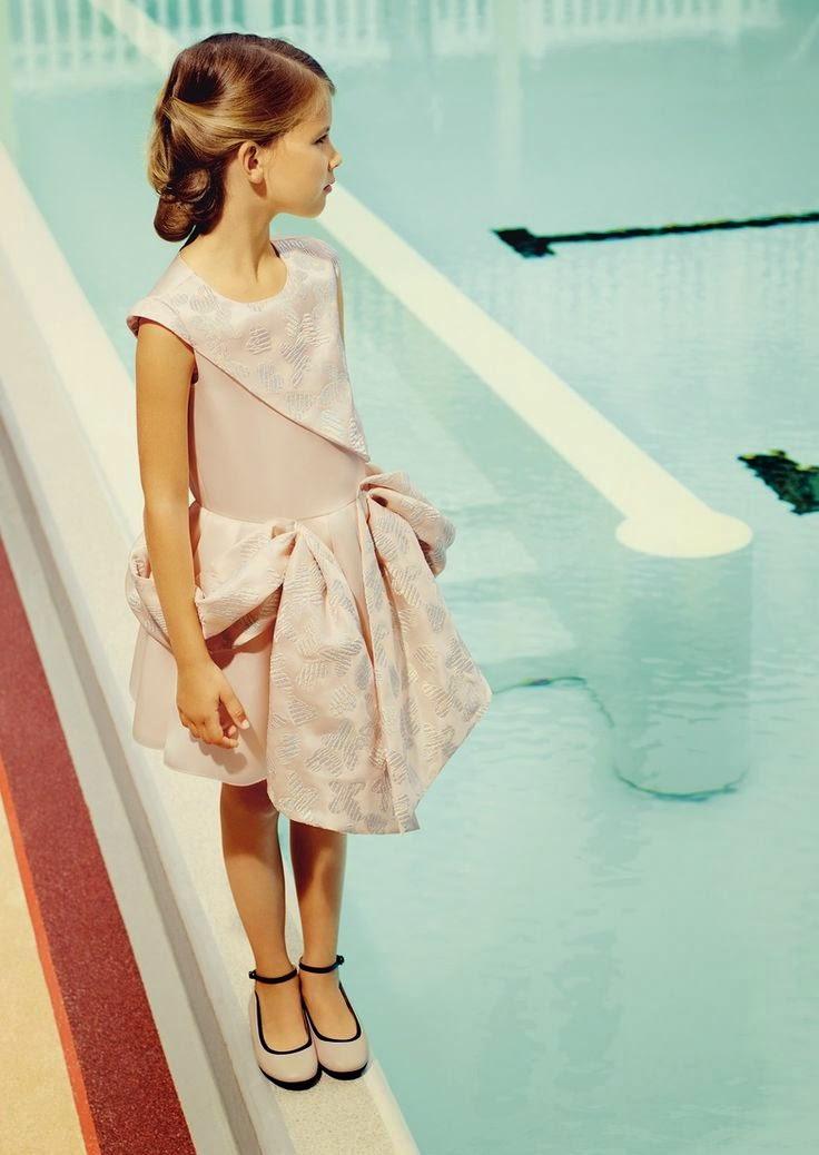 moda fiesta para niña Baby Dior