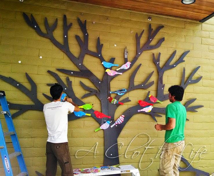 Whole Foods Market: Greenway Mary Woodward Elementary art installation