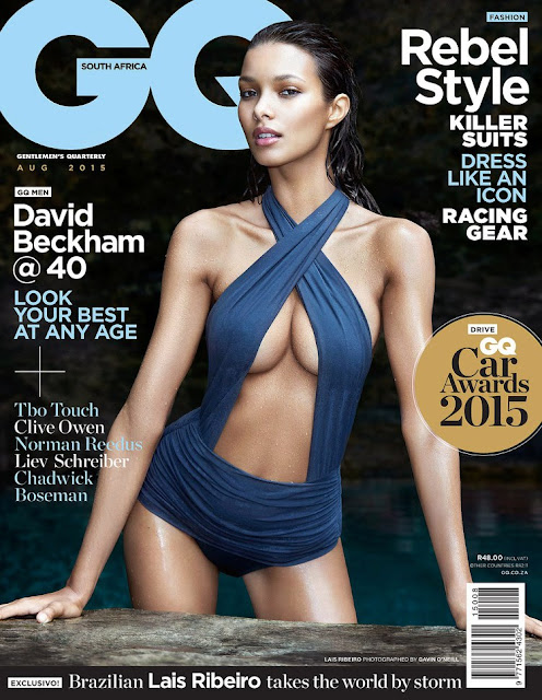 Lais Ribeiro - GQ South Africa, August 2015