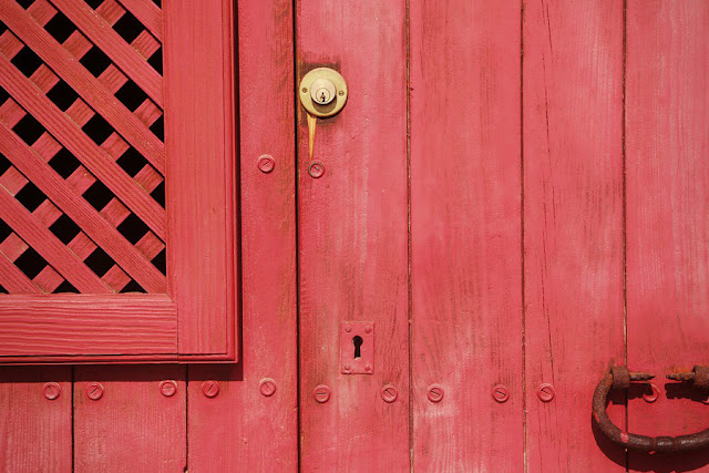 Porta fechada - Arte final.