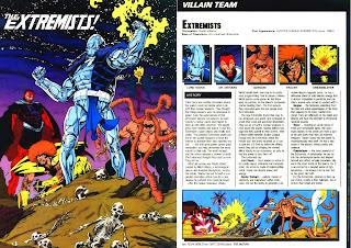 Extremistas (ficha dc comics)