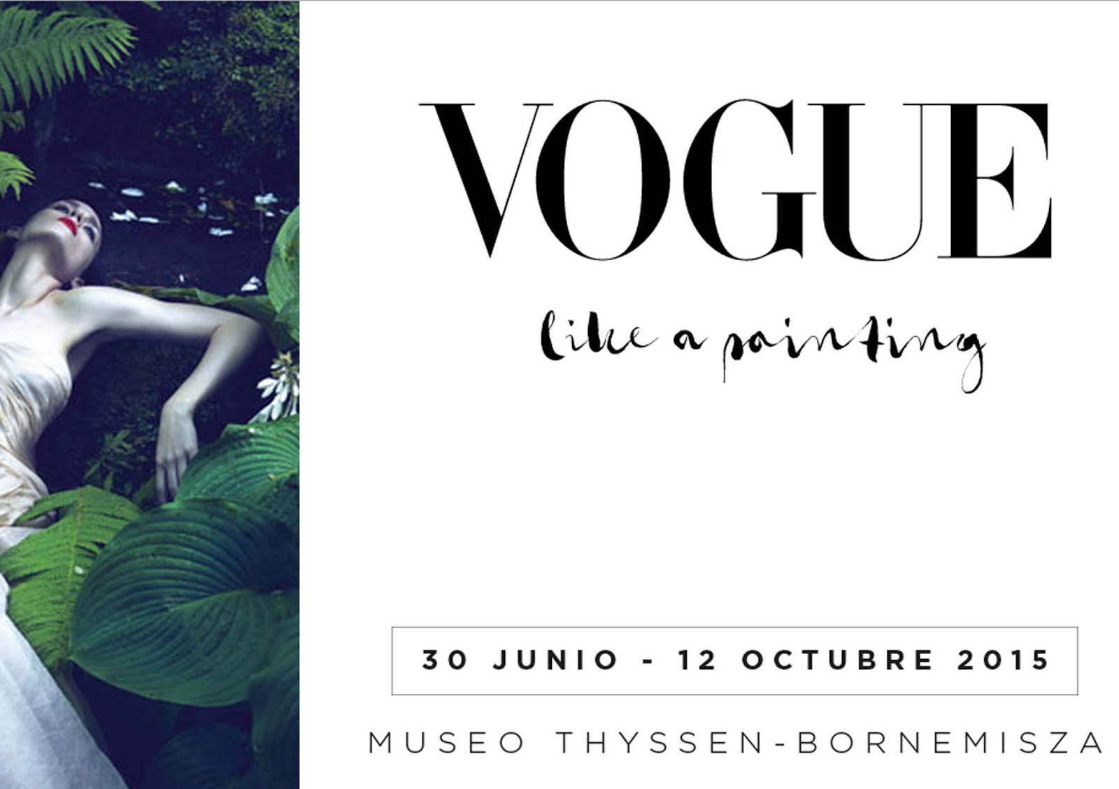 Exposición Vogue like a Painting en Thyssen Madrid