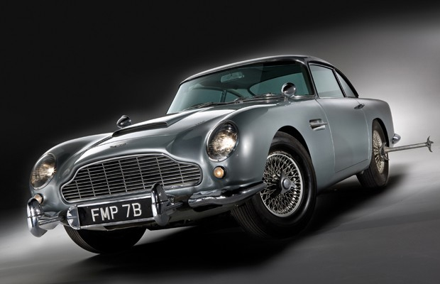 Attraction Of Classic Cars James Bond Aston Martin DB5