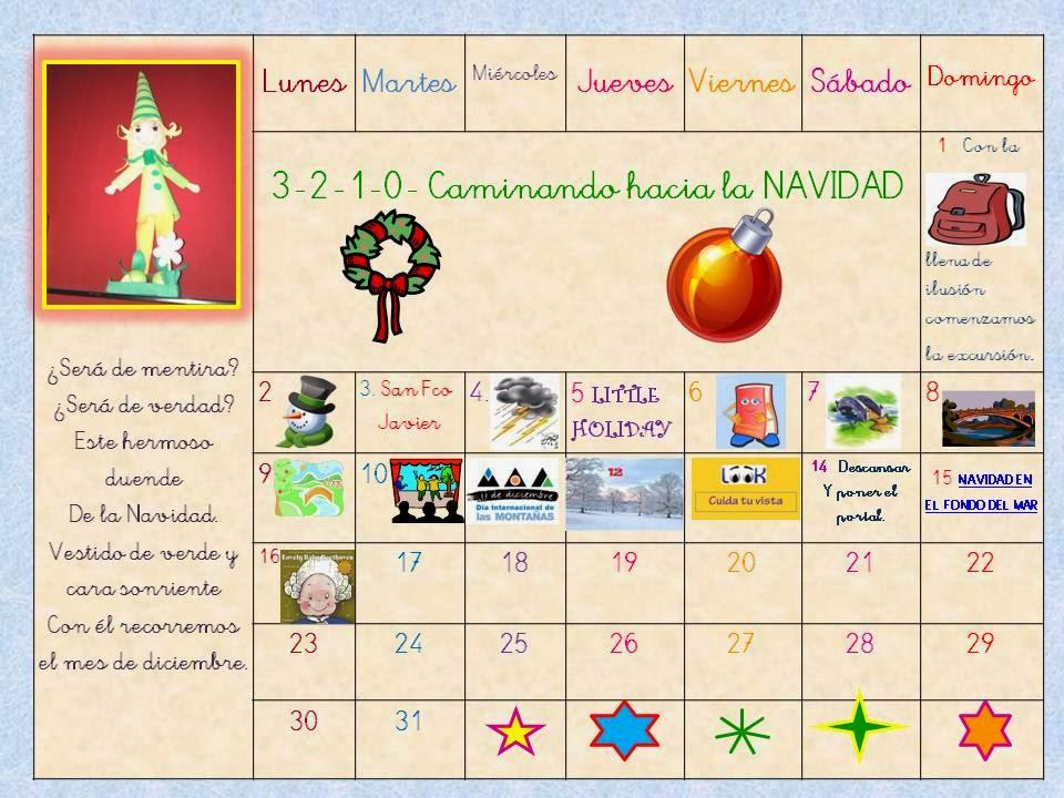 Calendario+De+Paty+Navidad Calendario De Paty Navidad ...