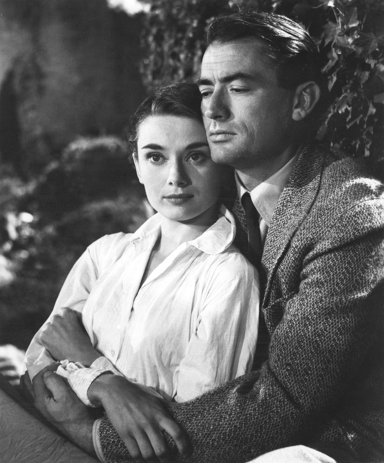 Roman Holiday. Audrey Hepburn & Gregory Peck - YouTube