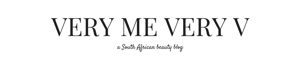 VERY ME VERY V - South African Beauty Blog