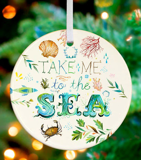 Sea Ornament Katie Daisy