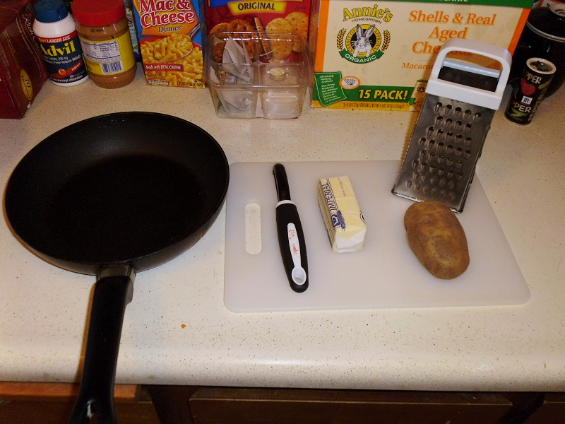 Items to make hashbrowns