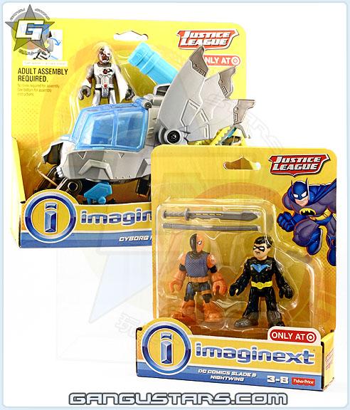 Fisher-Price Slade Deathstroke Nightwing imaginext dc comics batman おもちゃ アメコミ イマジネックスト バットマン