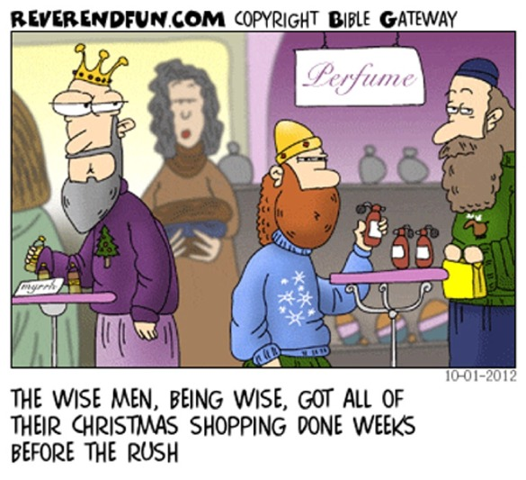 LIFE MATTERS: THE SUNDAY FUNNIES - CHRISTMAS SHOPPING