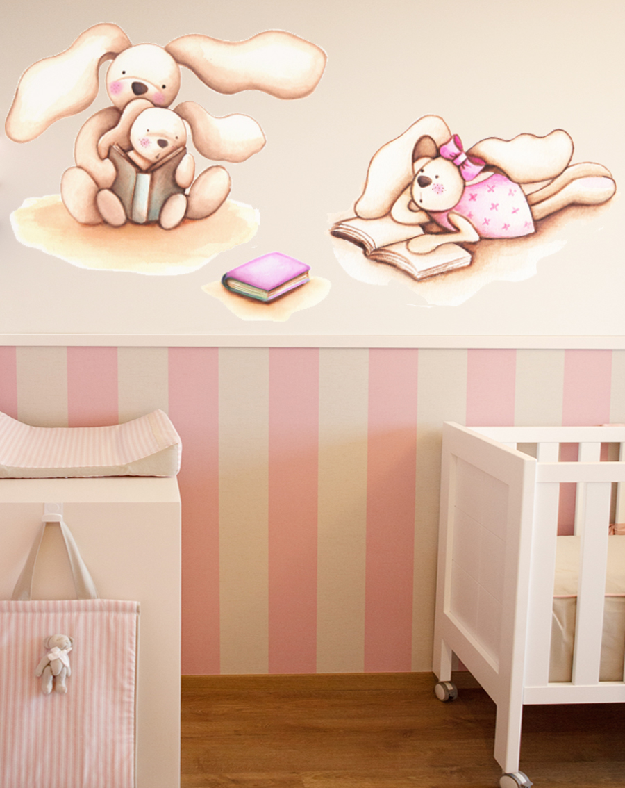 Decopared pegatinas infantiles para decorar las paredes for Pegatinas pared dormitorio