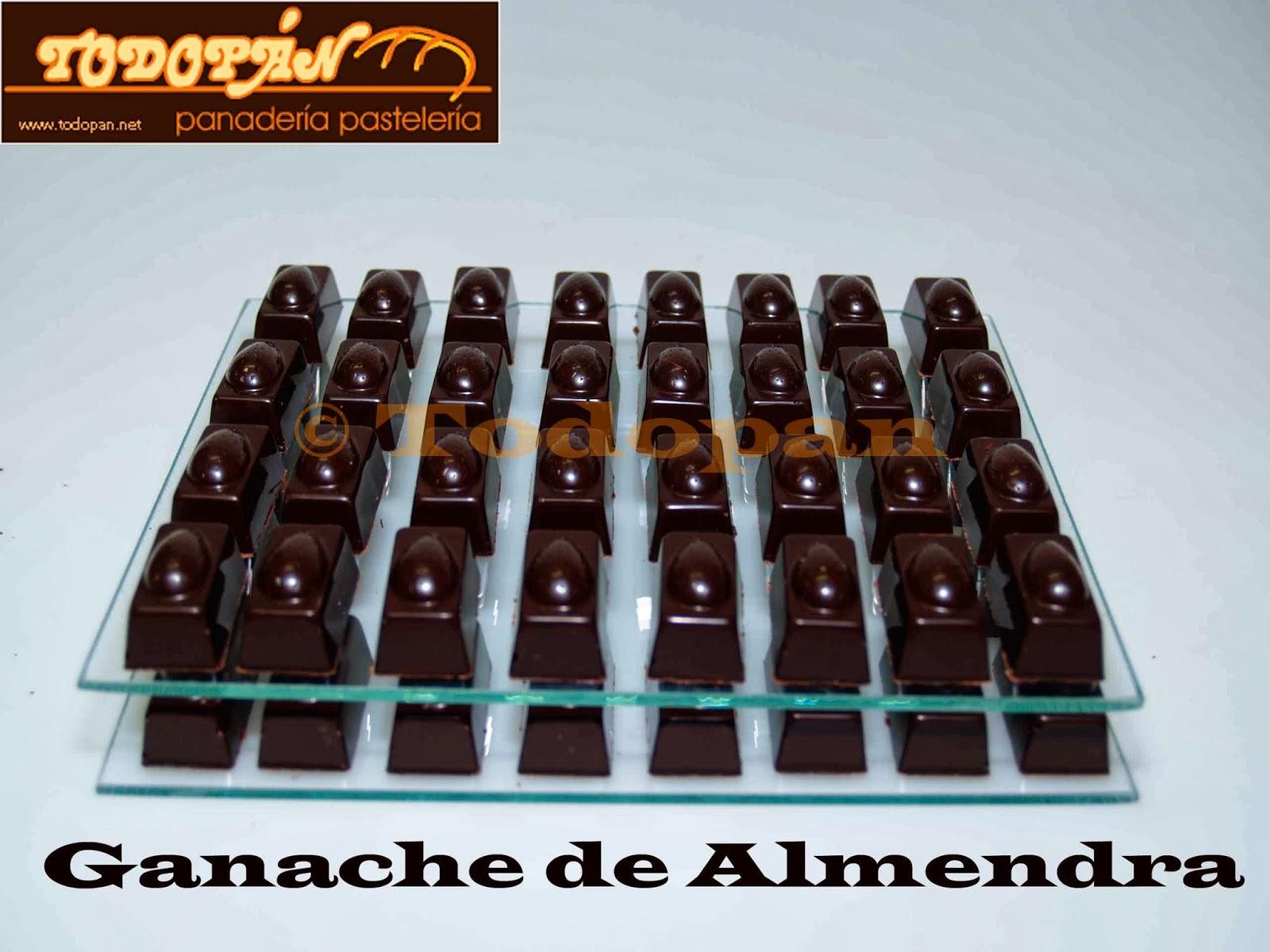 Bombones Ganache de Almendra