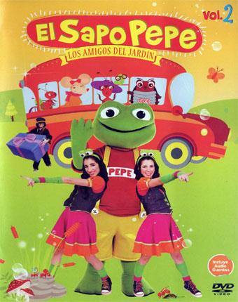 Peliculas dvd full el sapo pepe for Amigos del jardin