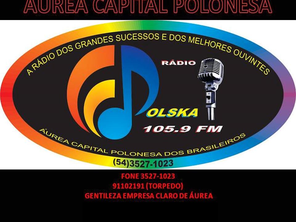 RÁDIO POLSKA FM DE ÁUREA-RS