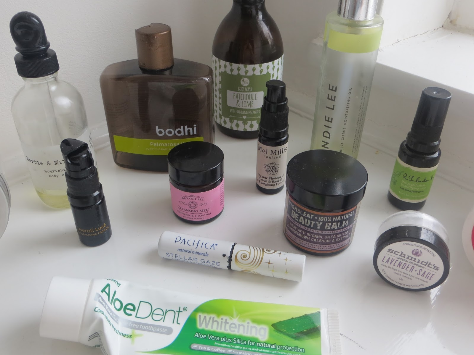 Want to see which natural & organic products I've used up recently...?