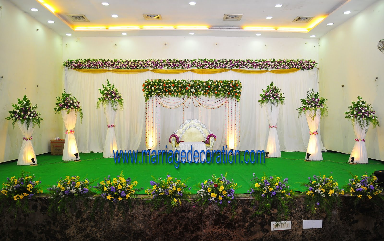 Wedding gate and stage decoration beautiful indian wedding stage beautiful mg escenarios fiestas pinterest stage mg choice image with wedding gate and stage decoration junglespirit Images